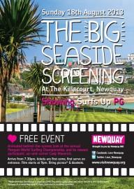 Big Screening poster 2013