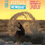 Fistral Night Surf Poster 2014
