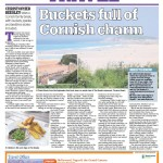 16.08.14 The Liverpool Echo. Buckets full of Cornish Charm