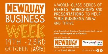 Newquay Business Week Banner