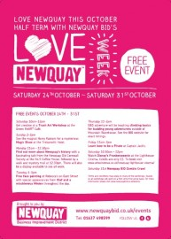 Love Newquay Week Poster 2015