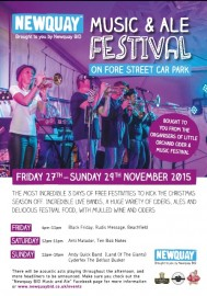 Music and Ale Festival Poster 2015